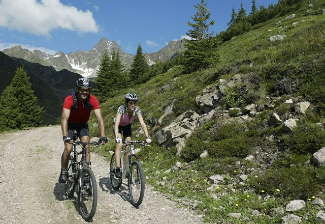 Mountainbike Ischgl